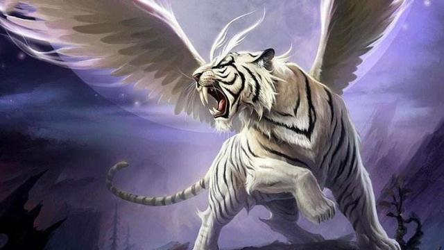 上古凶兽穷奇:拥有牛与虎两种形态,镇守墓穴可食蛊逐疫,为帝孙
