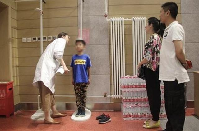 孩子标准身高体重表