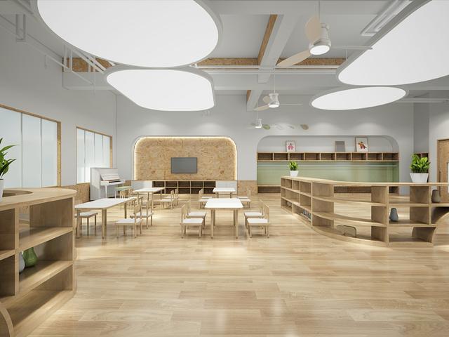 幼儿园上课区角设计平面图_设计分享