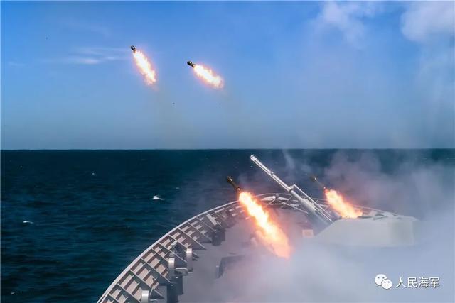 中国海军官微强硬表态!美国不怕中国导弹,中国更不怕美国航母