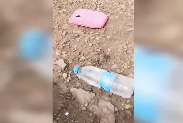 可可西里失联女大学生搜救画面 随身水瓶等遗物无血迹