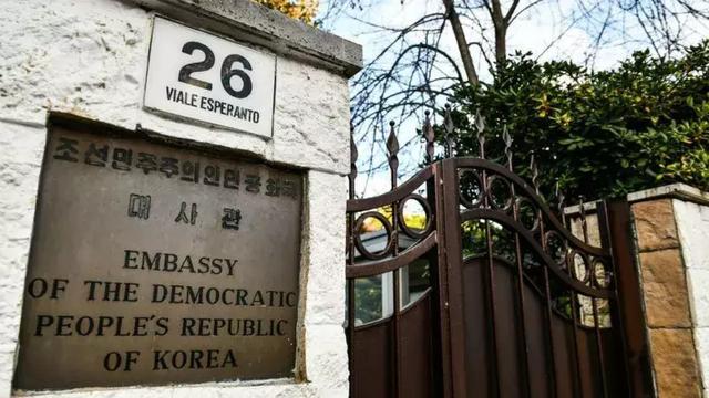 """韩媒称朝鲜驻意外交官""""失联"""""""