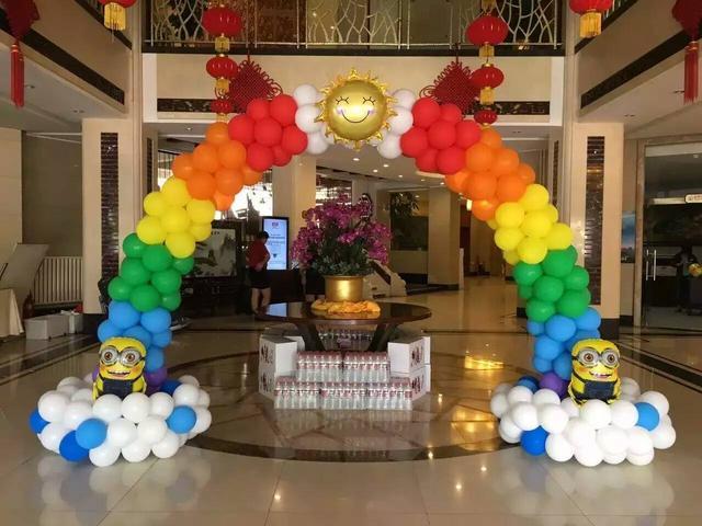浅析生日派对气球布置的颜色搭配