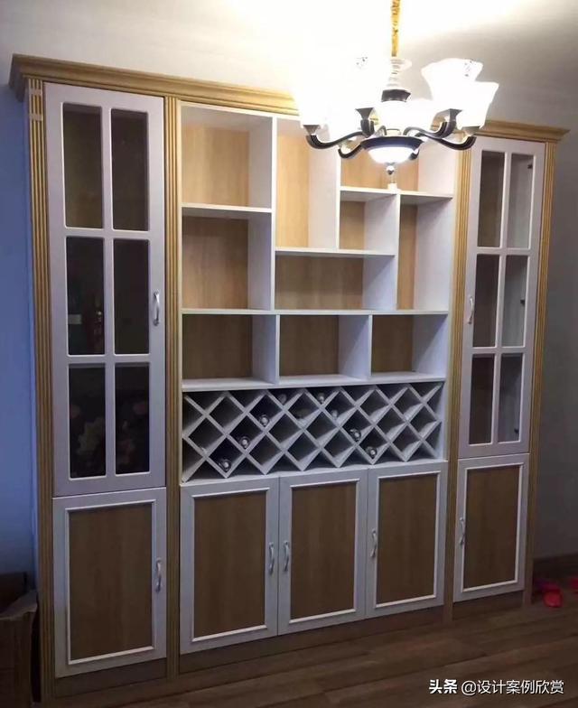 小户型客厅酒柜装修效果图装修攻略