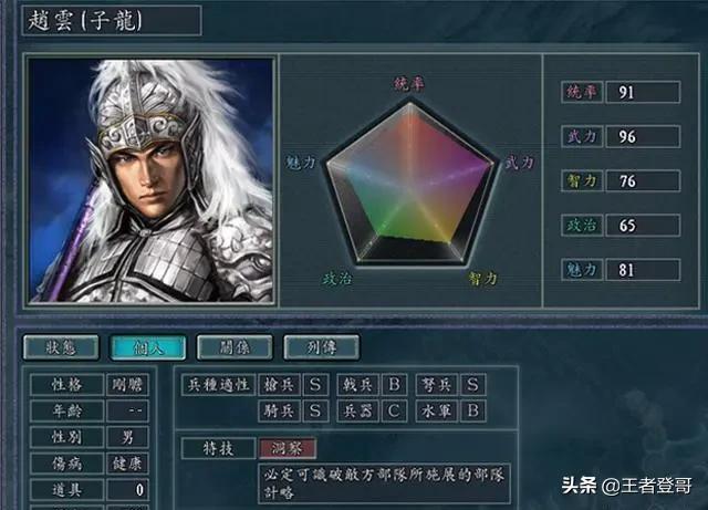 三国志11编辑武将