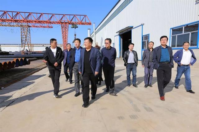 """杨玉龙带队就孟村优化营商环境、""""三深化三提升""""活动、服务企业发展工作进行视察调研"""