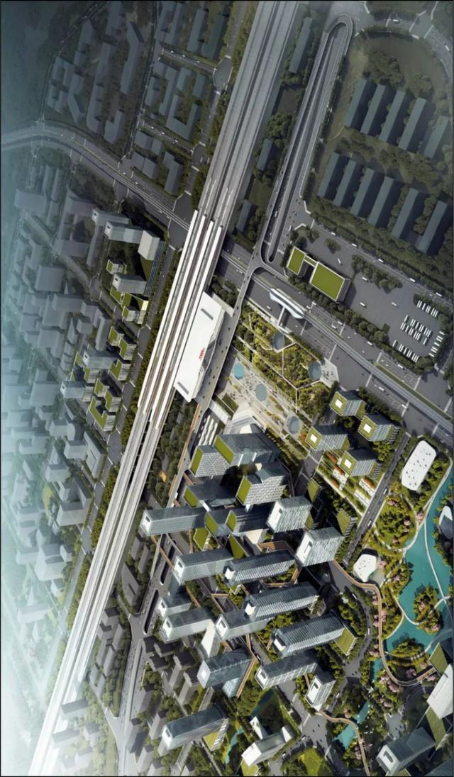 河源市高铁河源东站交通枢纽设计方案出炉