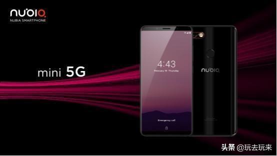 努比亚发布Nubia mini 5G智能手机:高通骁龙855+4800万摄像头