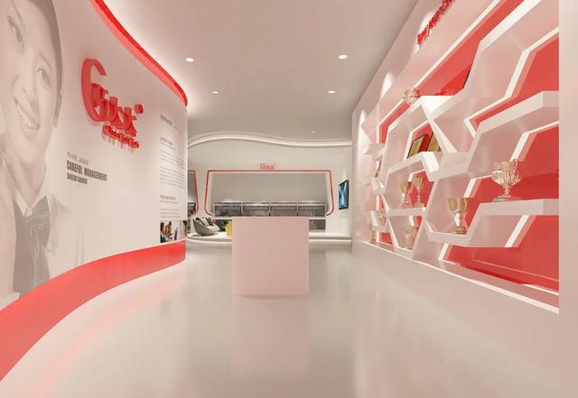 产品展示墙设计