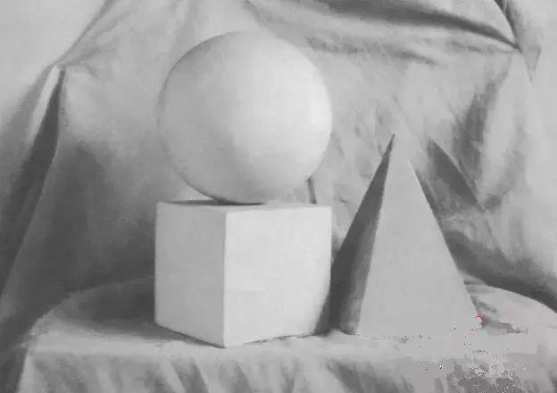 零基础石膏素描组合,快速入门——几何形体教程
