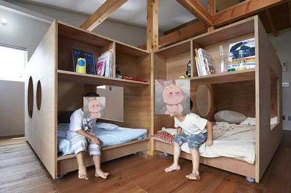 二胎房间设计姐弟