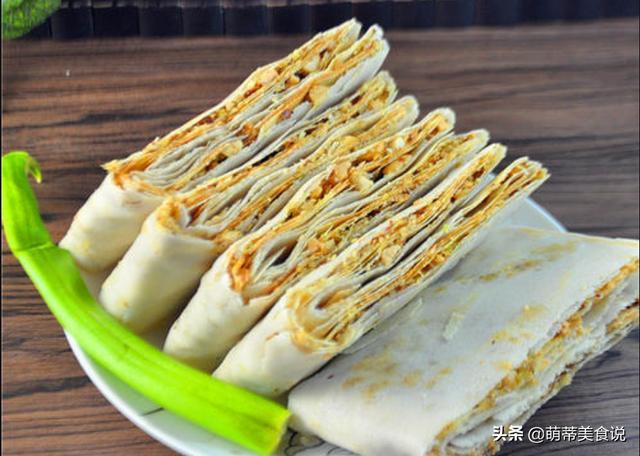 山东杂粮煎饼漂亮图片