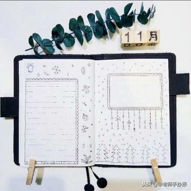 冬天手抄报简单又漂亮_出国留学网