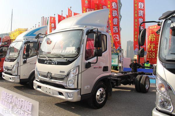 福田和江淮一排半轻卡,车厢3.5-3.8米,报价配置,性价比?