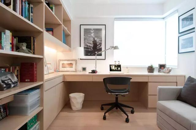 各种组合电脑桌书柜图集大全,建议收藏