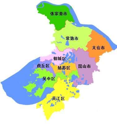 苏州地图高清