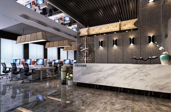 佛山办公室装修过程中前台的色彩搭配