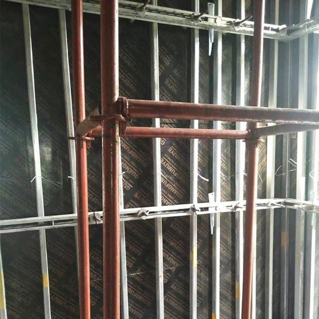 新型鋼背楞支撐體系讓建筑施工更簡單、方便、快捷