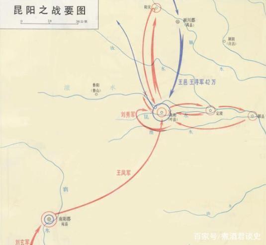 东汉王朝的定国之战,几千人与几十万大军的角逐