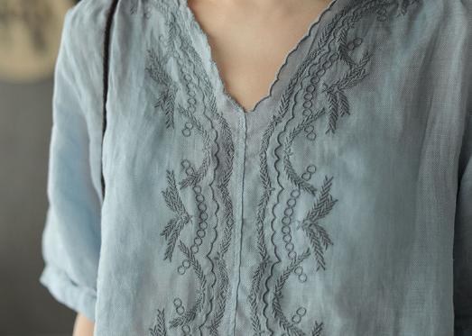 四十岁的女人最适合穿棉麻连衣裙,清新淡雅,显瘦有气质