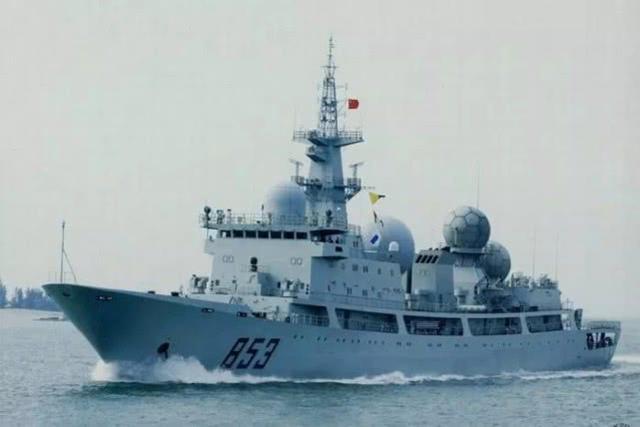 海军船简笔画涂色