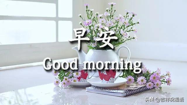 非常美丽的早上好动图表情包 酷暑早上好图片大全带字