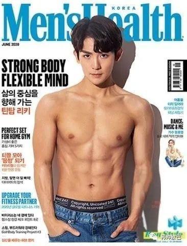 上过《Men's Health》封面的男爱豆们