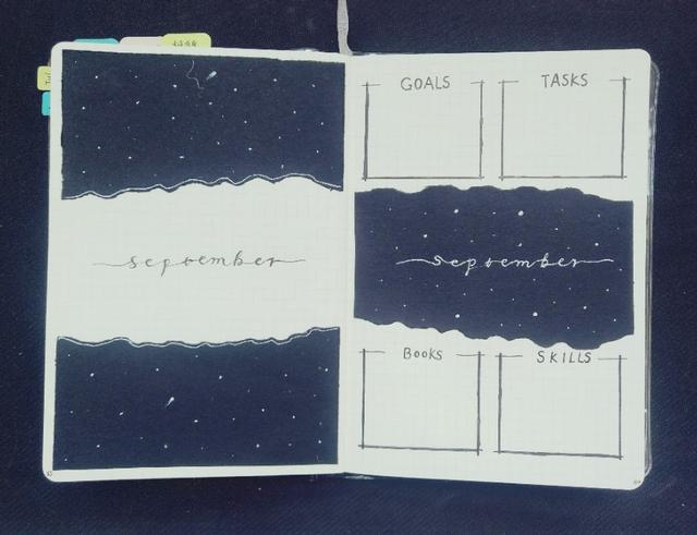 手绘手帐排版图片