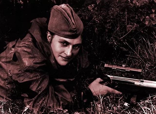 身中萌妹数枪毙命的奥尔加
