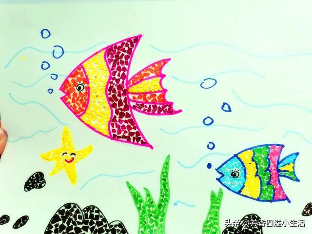 幼儿园废物利用手工教程:鸡蛋壳创意小涂鸦,玩转这几类果蔬!