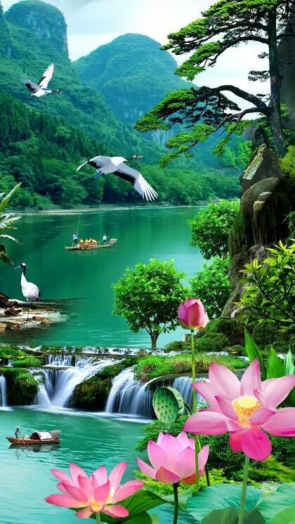 美丽风景图片唯美图