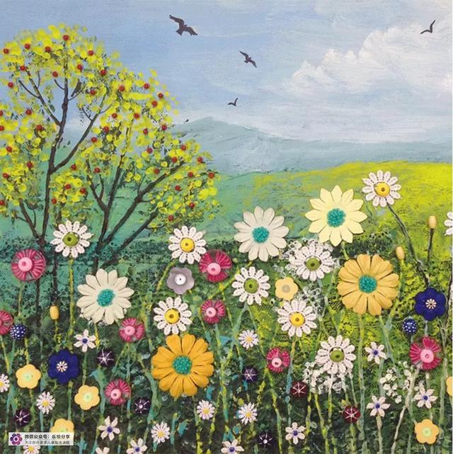 漂亮的色彩:来自美国画家 Janet Mach Dutton 绘画作品