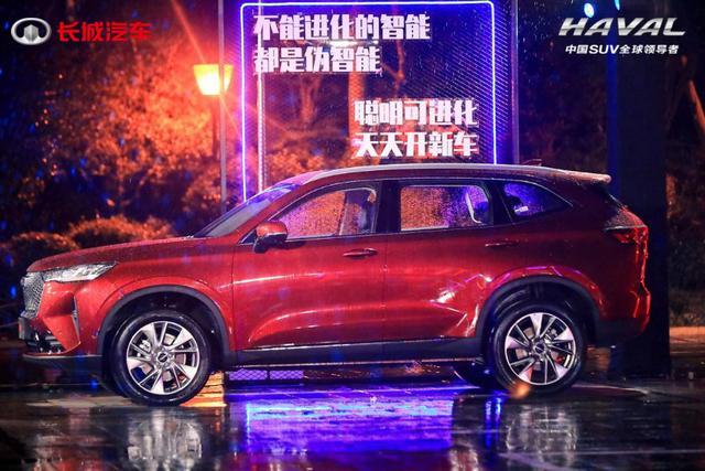 """首日官方预售订单破千,第三代哈弗H6再演绎""""神车""""速度"""