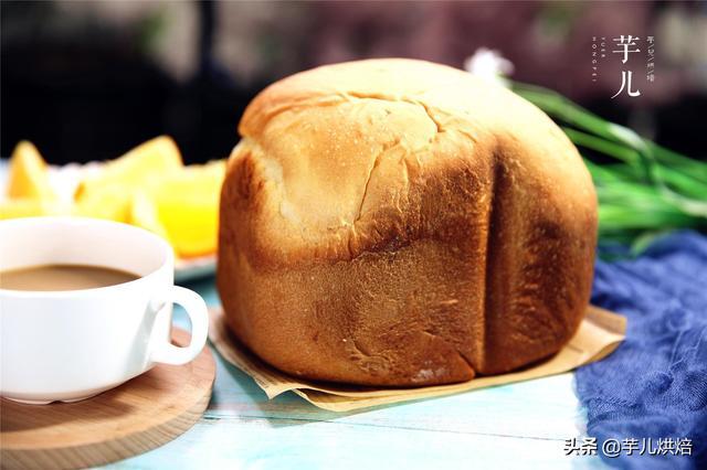 懒人最爱的一键式面包机面包,非常松软的好方子,一周三次吃不够