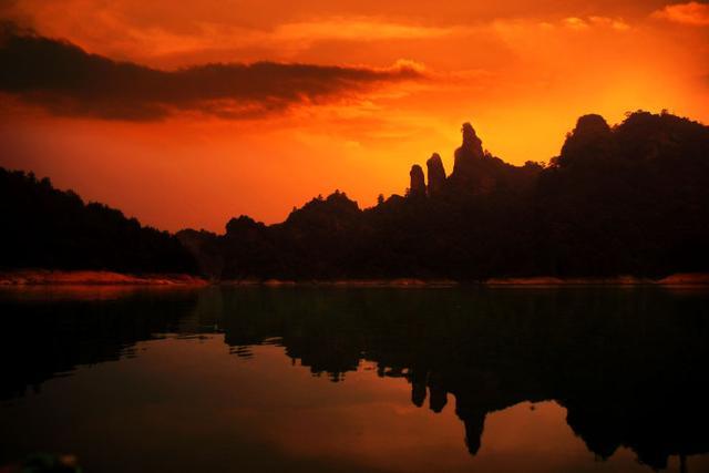 云游大美中国--泰宁大金湖:尽显山的俊逸和水的清丽