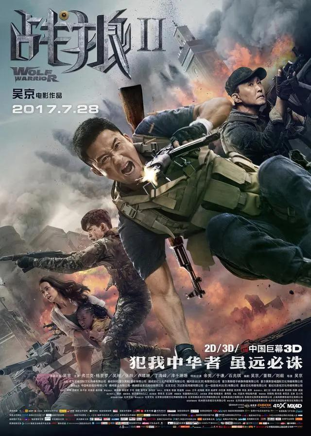 《战狼3》预计2020年上映,吴京有望冲击两百亿影帝_新浪看点