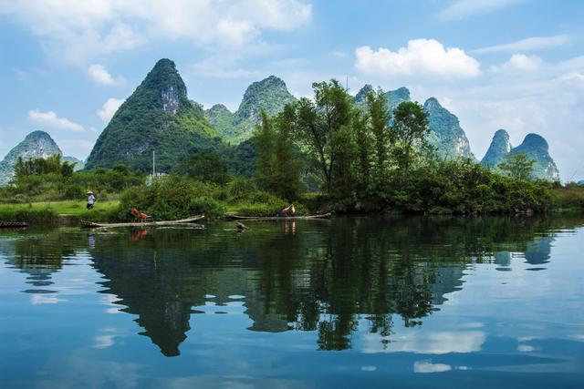 山水田园美景微信壁纸,最纯真的大自然