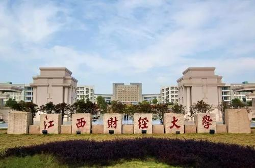 江西财经大学校门图片