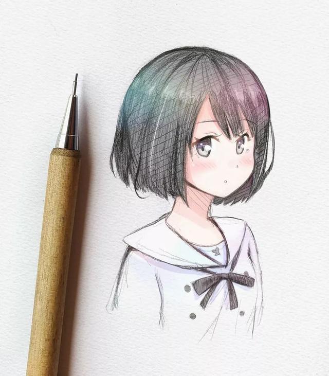 动漫人物图集:动漫美少女精致甜美可爱,喜欢就不要错过啦!