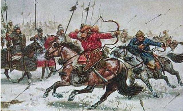 历史上的蒙古弓骑兵,真的是边骑马边射箭吗?