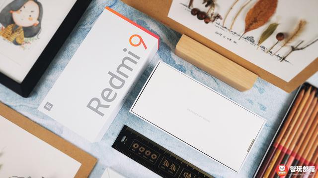 Redmi 9开箱体验图赏:藏于霓虹,绚烂星空!799元的高品质入门机