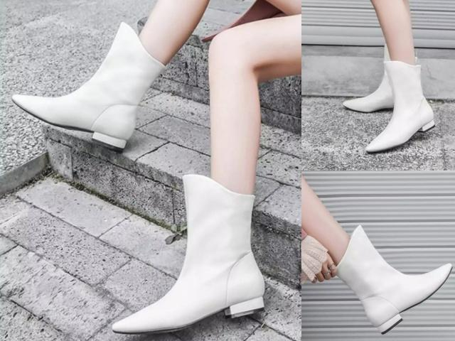 """今年流行的""""尖头""""短靴,首选这4款,谁穿谁好看!"""