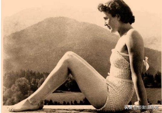历史老照片:希特勒的神秘情妇爱娃·布劳恩