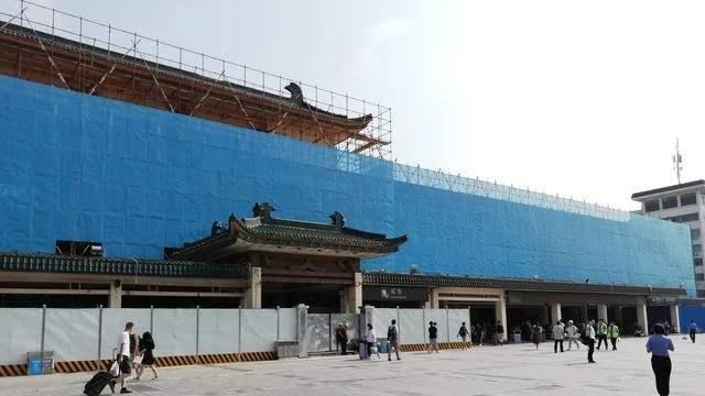 2020年西安火车站图片