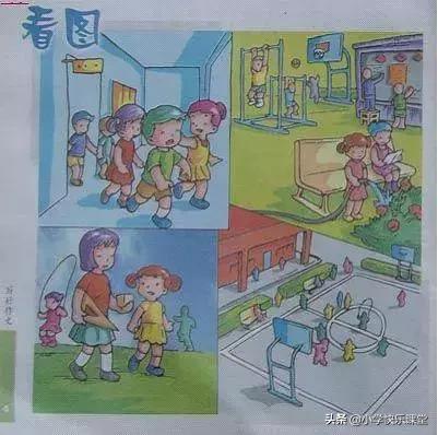 一年级看图写话60篇(附范文),家长打印1份,孩子期末满分不愁