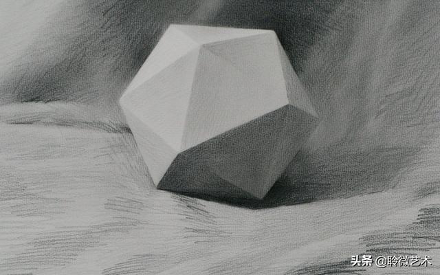 正方体的三大面素描