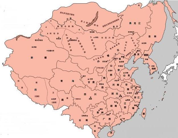 中国版图的地理几何中心在哪里?