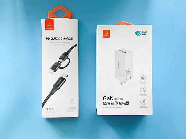 从笔记本到手机,三个设备一起快充,麦多多氮化镓充电器实测感受