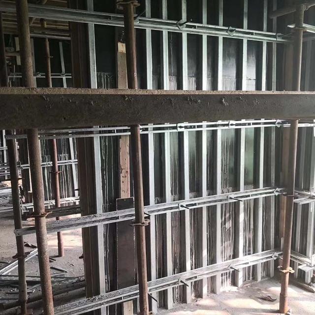 什么是剪力墙模板钢支撑加固体系?