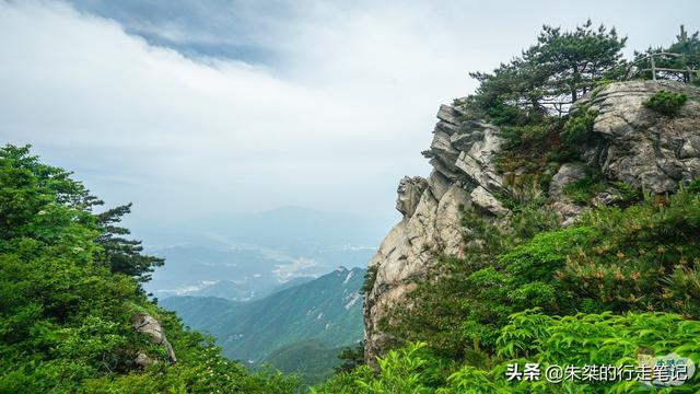 湖北省 黄冈市 罗田县 天堂寨景区
